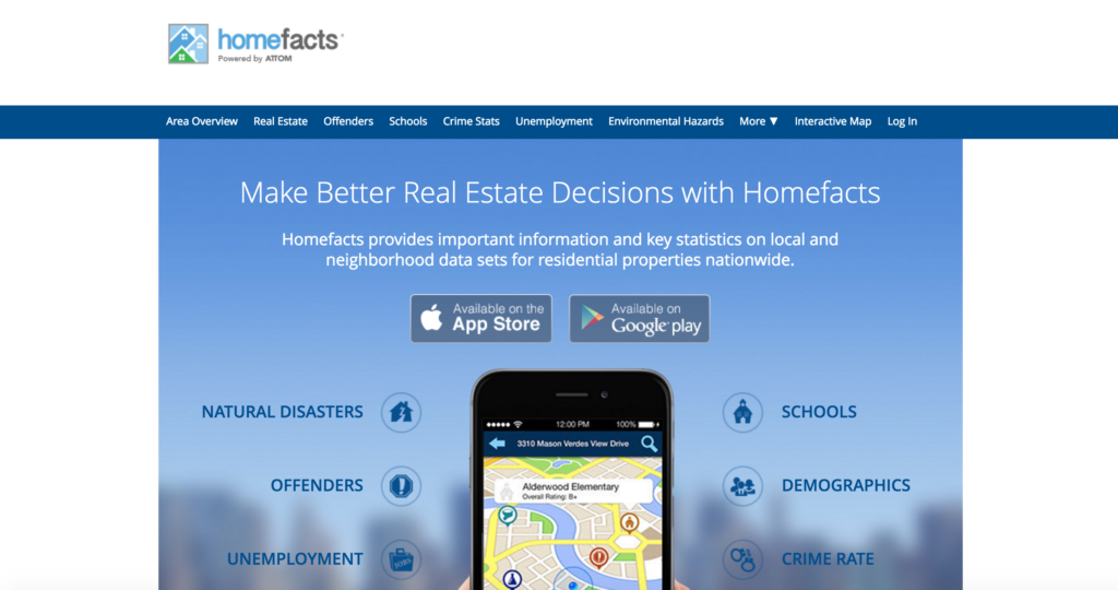 HOmeFacts App